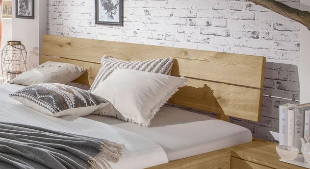 Schubkasten-Bett Kärnten mit schrägem Kopfteil zum Anlehnen
