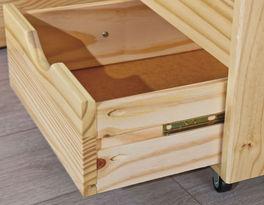 Schubkasten-Bett Oslo mit geräumigen Schubladen