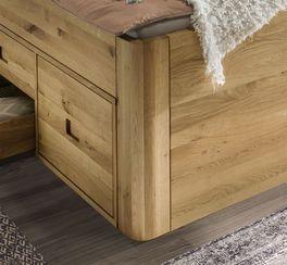 Schubkasten-Bett Pram mit abgerundeten Eckfüßen
