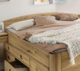 Schubkasten-Bett Pram mit niedrigem abgerundetem Kopfteil
