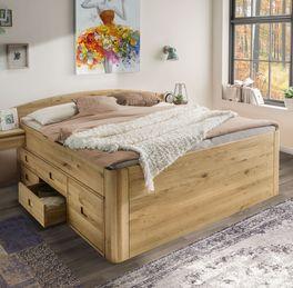 Schubkasten-Bett Pram aus robustem Massivholz
