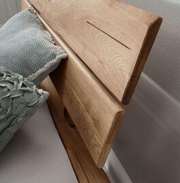 Schubkastenbett Romeno mit geneigtem Kopfteil
