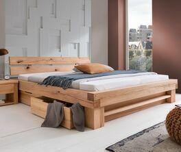 Schubkasten-Bett Sowa in angesagter Balkenoptik