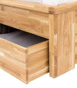 Schubkasten-Bett Sumak mit leichtgängigen Bettkästen