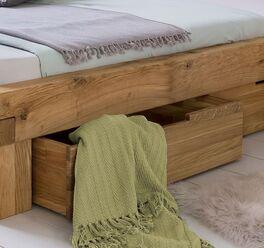 Schubkasten-Bett Tomba mit praktischem Stauraum