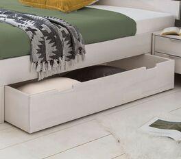 Schubkasten-Bett Valors Bettkästen mit Griffmulden