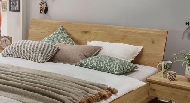 Schubkasten-Bett Wila metallfrei mit durchgängiger Kopfteilplatte