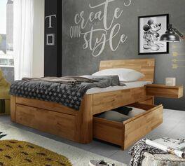 Jugendzimmer mit Schubkasten-Einzelbett Zarbo einrichten