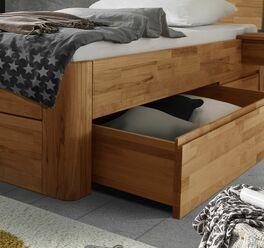Schubkasten-Einzelbett Zarbo mit nützlichem Stauraum
