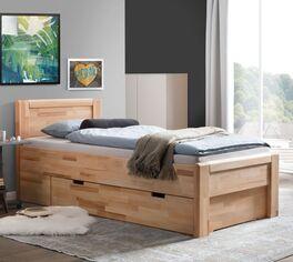 Schubkasten-Seniorenbett Ewen mit großzügigem Stauraum