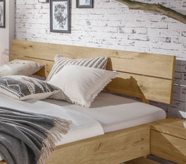 Schubkastenbett Kärnten mit Holz-Kopfteil