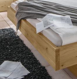 Schubkastenbett Kärnten mit modernem Schweberahmen