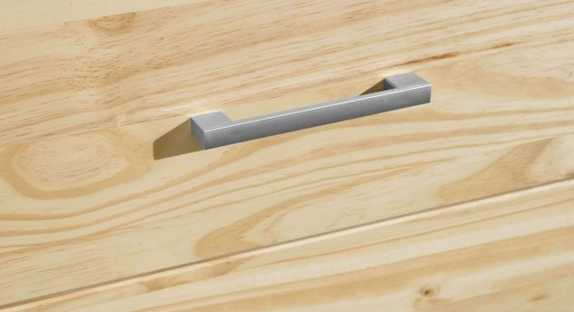 Schubladen-Kommode Bregenz mit Kunststoff-Griffen