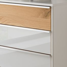 Schubladen-Kommode Briston im geradlinigem Design