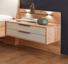 Schwebe-Nachttisch Leandra in modernem Farbmix