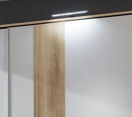 Schwebetüren-Kleiderschrank Bellegra optional mit Passepartout-Rahmen