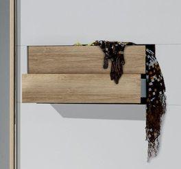 Schwebetüren-Kleiderschrank Bellegra zwei Schubfächer