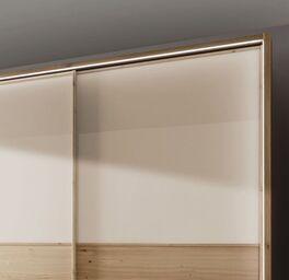 Schwebetüren-Kleiderschrank Corato mit rundum Beleuchtung