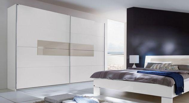 Preiswerter Schwebetüren-Kleiderschrank Filetto in modernem Design