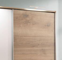 Schwebetüren-Kleiderschrank Vanita mit optionaler Umrahmung