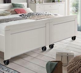 Senioren-Doppelbett Calimera mit teilbaren Betthälften