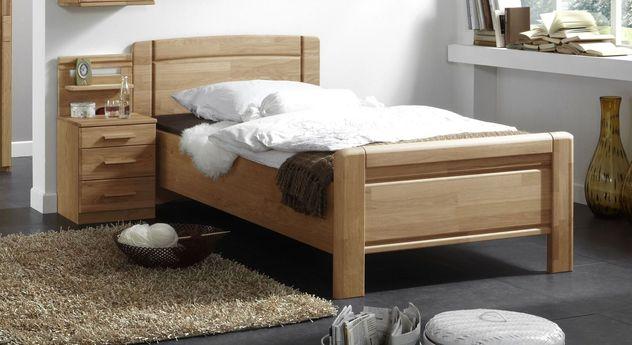 Einzelbett Toliara in Komforthöhe für Senioren
