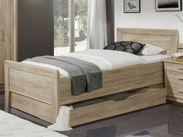 Preiswertes Senioren-Schubkastenbett Palmira in natürlichem Look