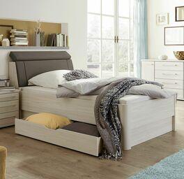 Altersgerechtes Senioren-Schubkastenbett Usingen aus Spannplatte