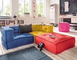Aus Einzelteile zusammenstellbares Sitzkissen-Sofa Kids Paradise