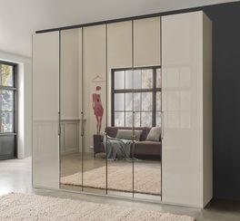 Spiegel-Falttüren-Kleiderschrank Northville optional mit Aufbauservice