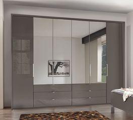 Hochwertiger und robuster Spiegel-Kleiderschrank Harrow