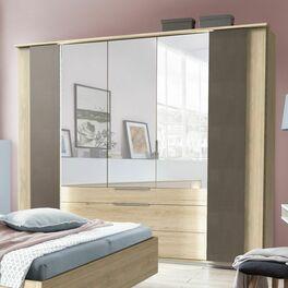 Spiegel-Kleiderschrank Naila mit praktischen Schubladen
