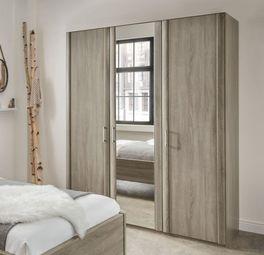 Spiegel-Kleiderschrank Troia in 216 cm Höhe
