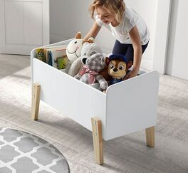Praktische Spielzeugkiste Maila fürs Kinderzimmer