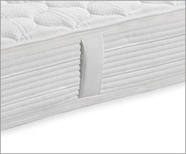 Taschenfederkern-Matratze Pan Premium mit robusten Textil-Griffen