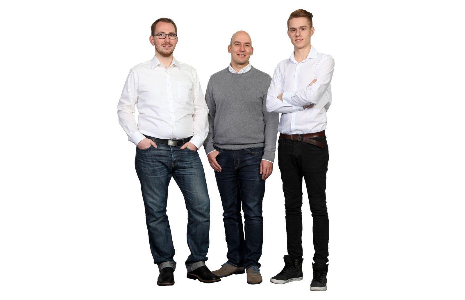 Teamfoto der Entwicklung