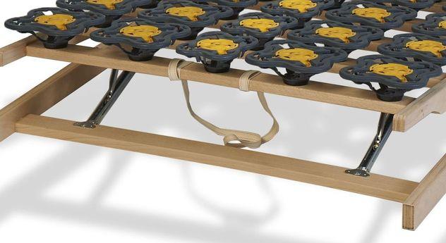 Teller-Lattenrost modulflex mit robuster Schlaufe zum Verstellen