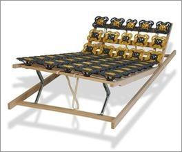 Teller-Lattenrost modulflex mit individuell einstellbaren Zonen