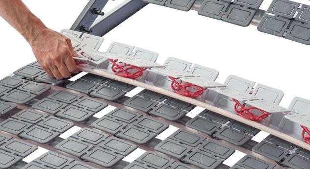 Hochwertiger Lattenrost Platoflex mit austauschbaren Leisten