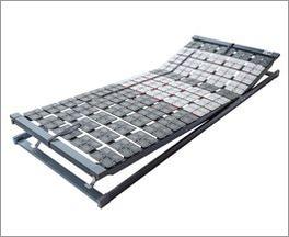 Tellerlattenrost Platoflex mit Federwirkung auf kompletter Liegefläche