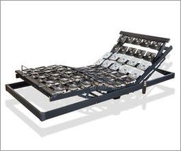 Tellerlattenrost youSleep Motor mit massivem Birkenholzrahmen