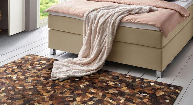Rustikaler Teppich Mosaic in außergewöhnlichem Design