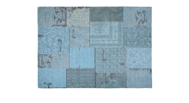 Teppich-Patch türkis ist gemütlich und stilvoll