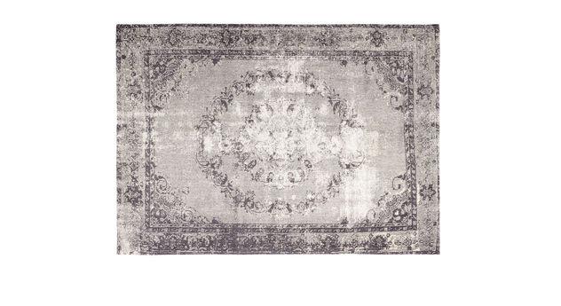 Teppich Royal grau für Fußbodenheizung geeignet
