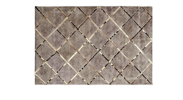 Teppich Square aus flauschigem Viskoseflor