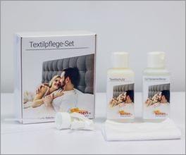 Textilpflege-Set mit speziellem Microfasertuch