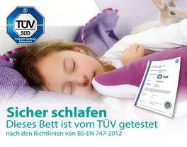 TÜV-Siegel von LIFETIME für die Sicherheit der Kinder
