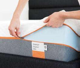 Viscoschaum-Matratze Original Elite mit praktischem Reißverschluss