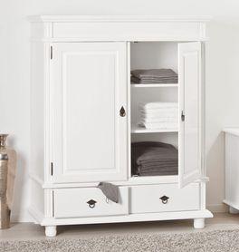 Weißer Wäscheschrank Wien online erhältlich