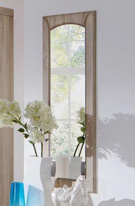 Wandspiegel Martano mit Dekorrahmen in Eiche sägerau